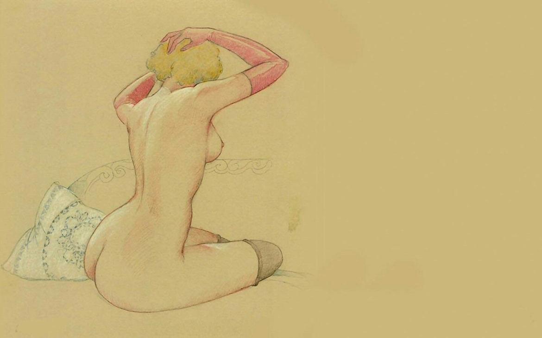 Leone Frollo nude art