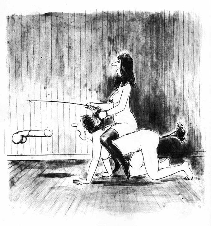 Les belles manières erotic cartoon