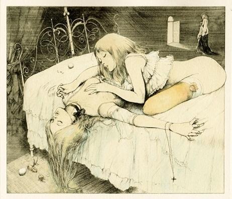 lesbian Alphonse decadence