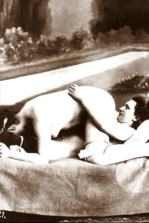 lesbian pose 69 photograph
