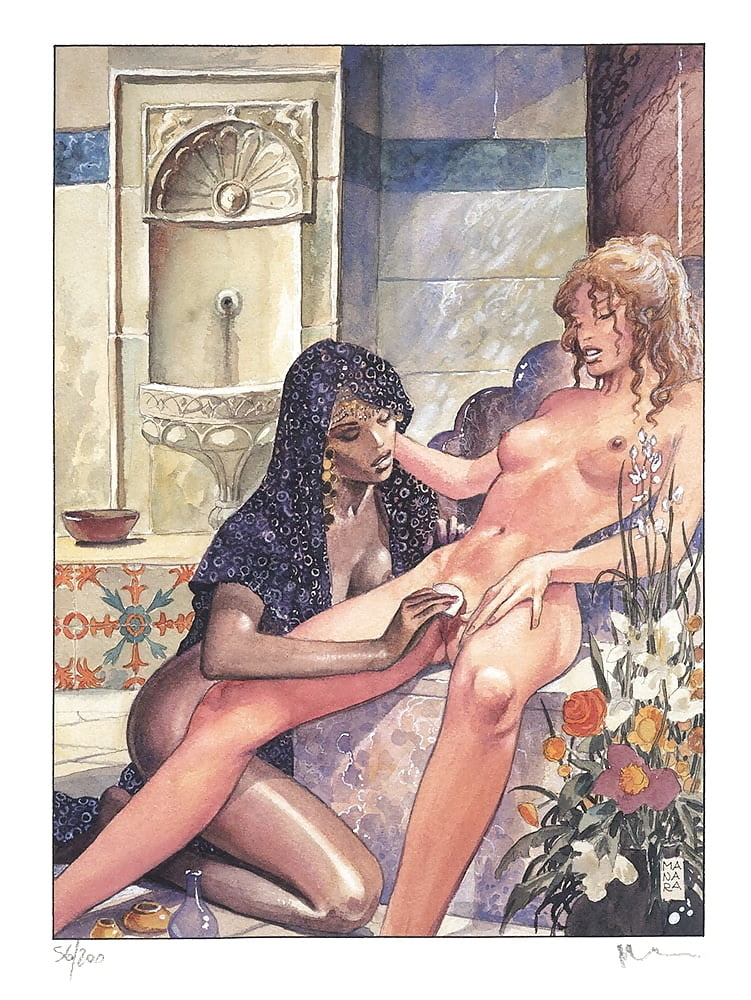 lesbians Milo Manara art