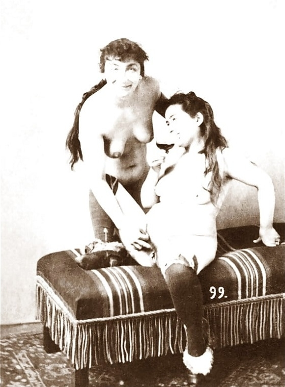 long haired lesbians photograph