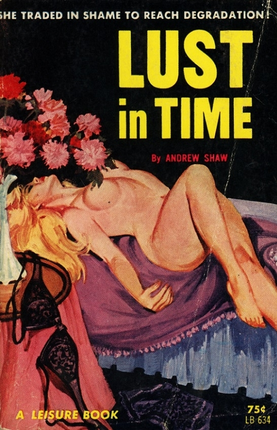 Lust in Time Pulp Novel