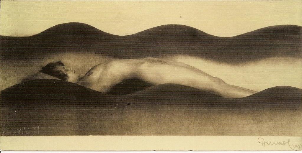 lying nude. František Drtikol