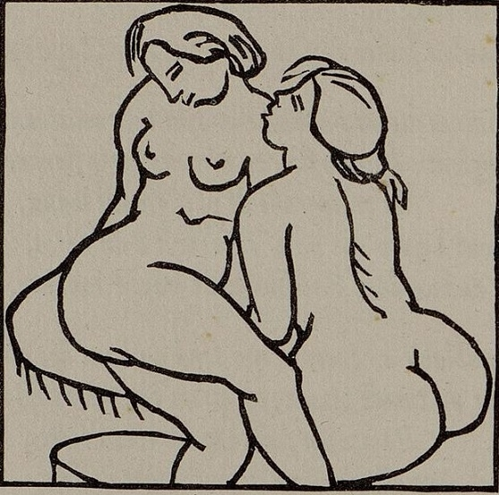 Maillol Two naked women