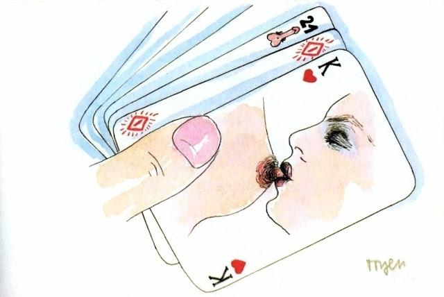 Marie Čerminová aka Toyen erotic cards