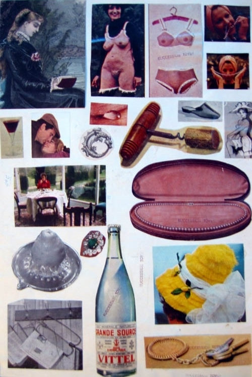 Marie Čerminová Toyen collage art