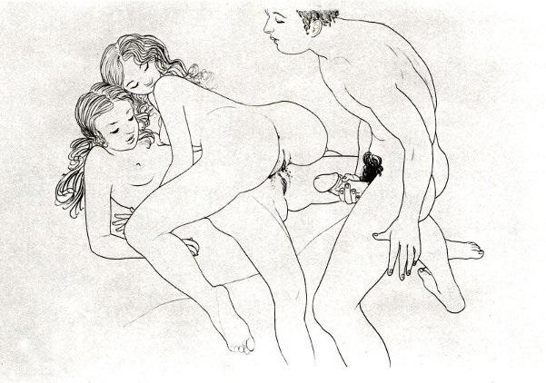 Mario Tauzin threesome with lesbians
