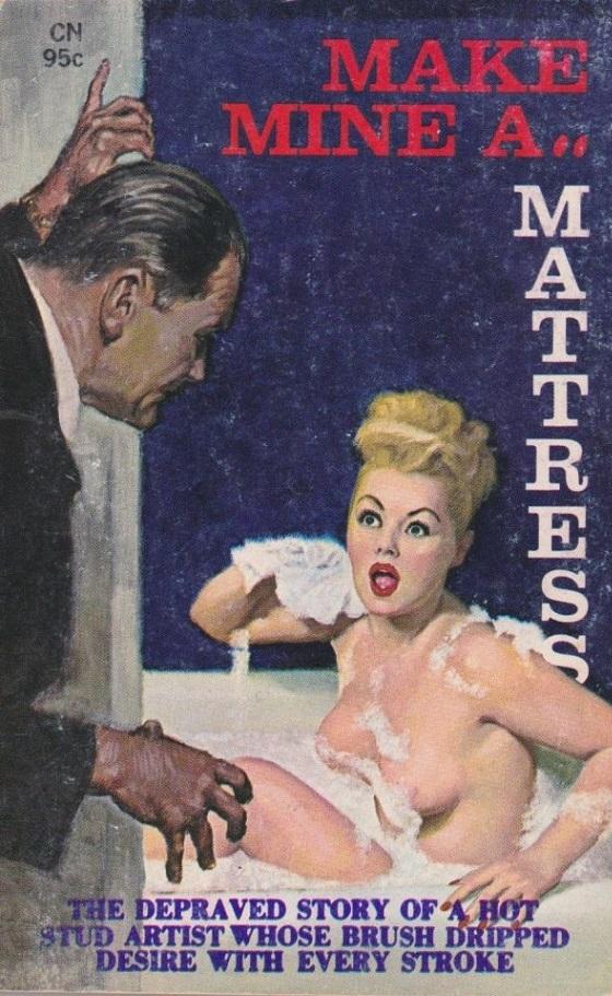 Mark Mine as Mattress Pulp Novel