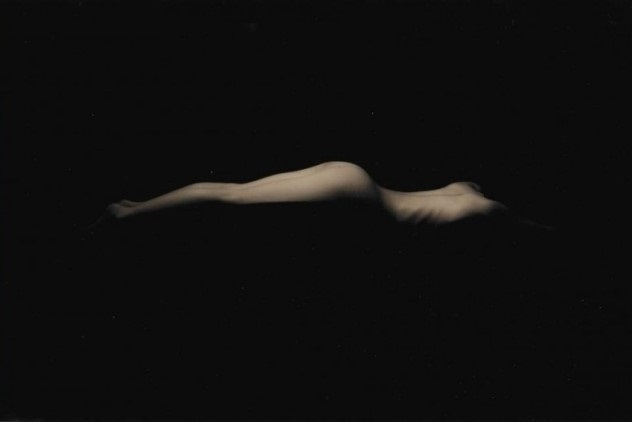 Masao Yamamoto lying nude