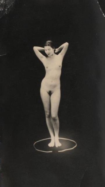 Masao Yamamoto posing nude