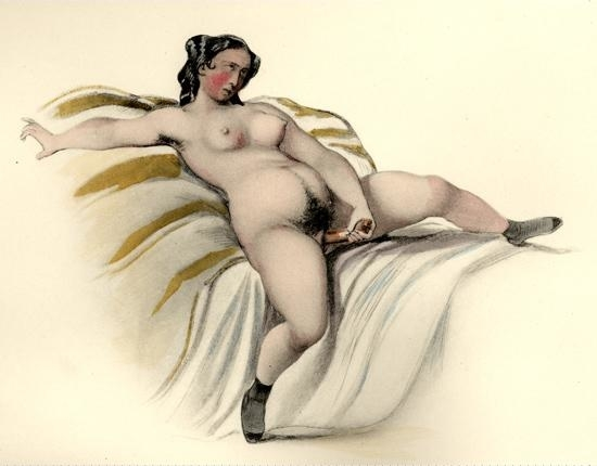 masturbating female Johann Nepomuk Geiger