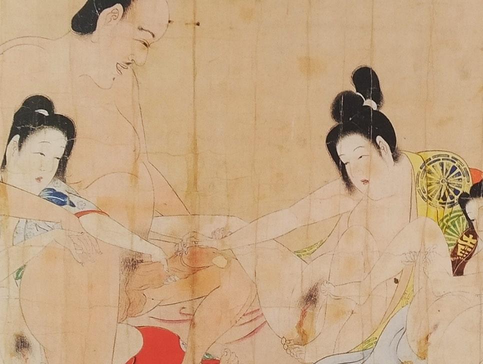 Matabei shunga scroll
