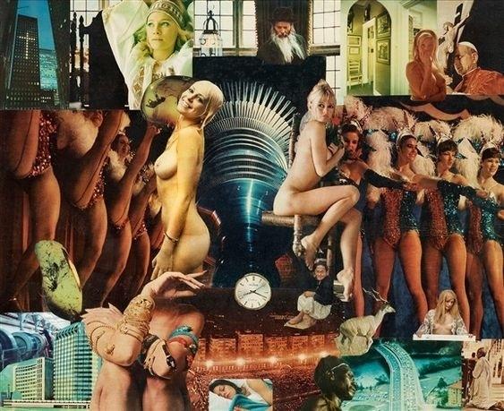 Max Svanberg collage