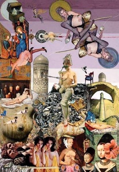 Max Svanberg erotic collage