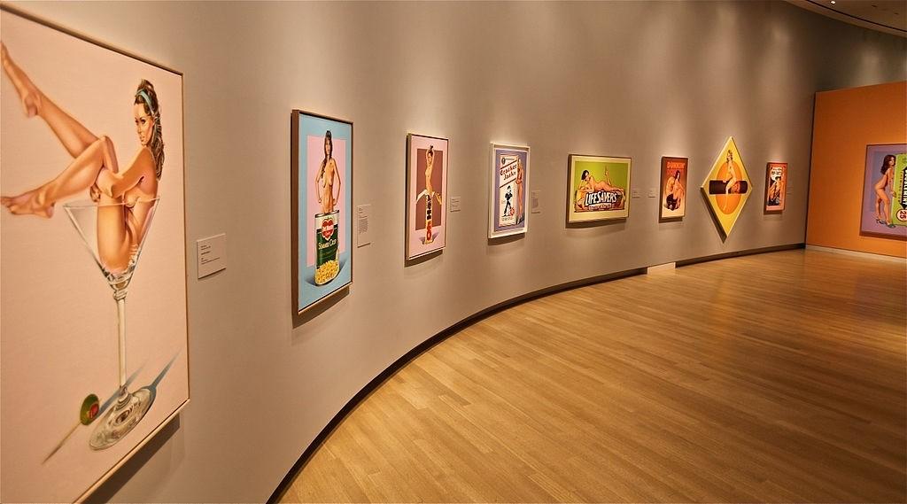 Mel Ramos artist exhibition