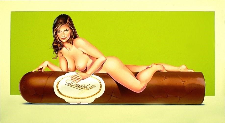 Mel Ramos havana cigar
