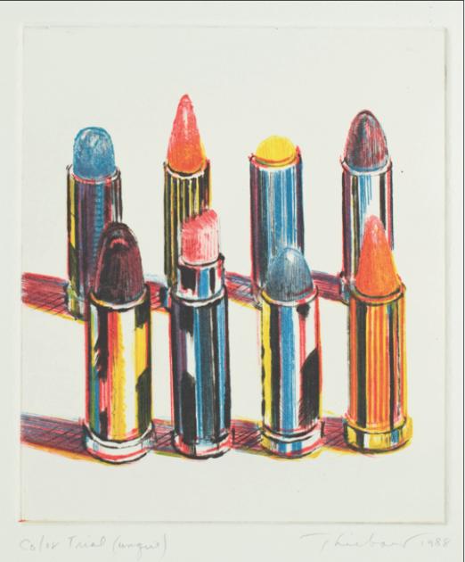 Mel Ramos lipsticks