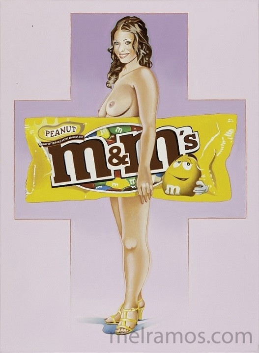 Mel Ramos mandy m