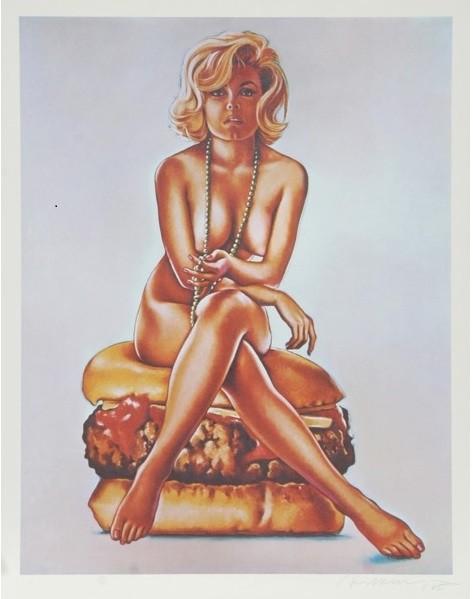 Mel Ramos virnaburger