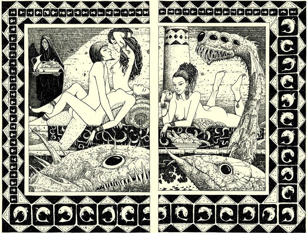 Melchior Grün tales erotic