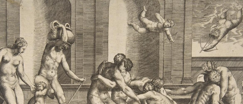 The Loves of The Gods by Renaissance Artist Guilio Bonasone