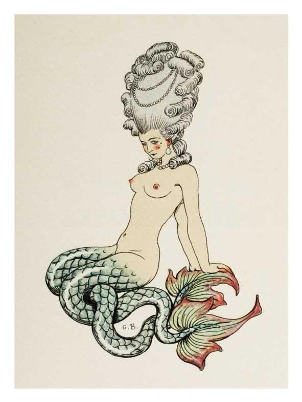 Mermaid George Barbier