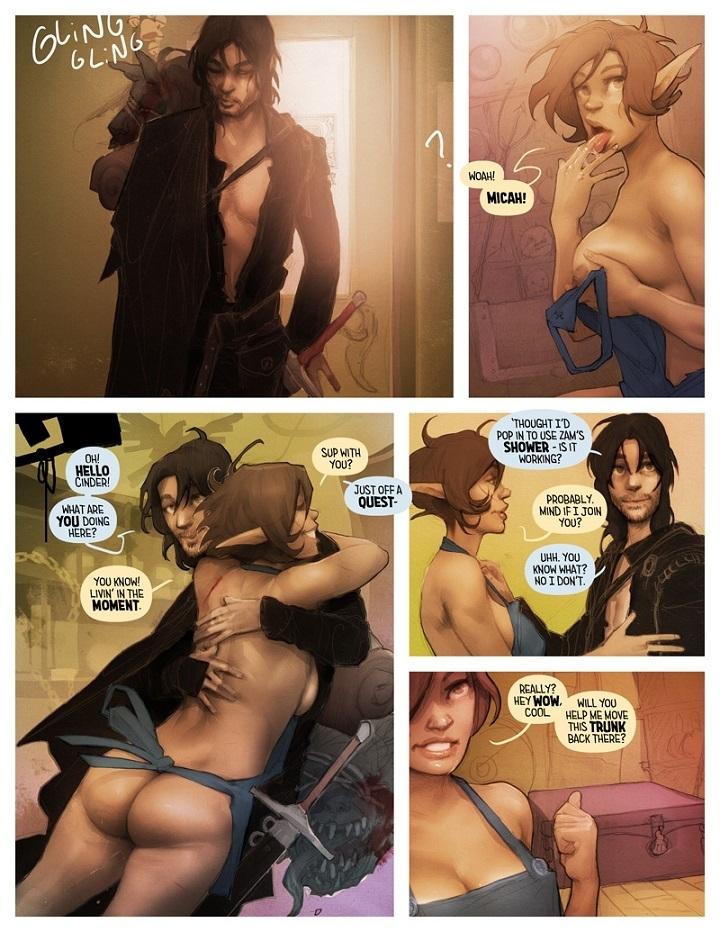 Micah and Cinder shower