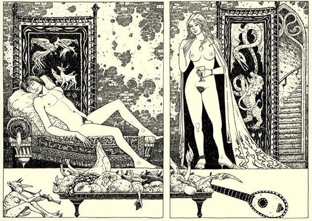 Michael Hutter erotic art