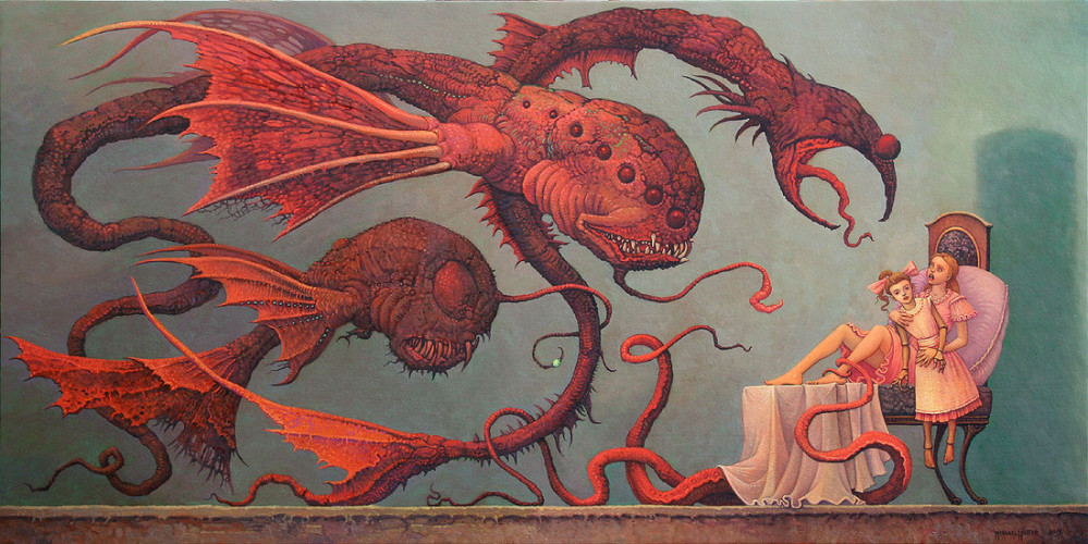 michael hutter erotic surrealism