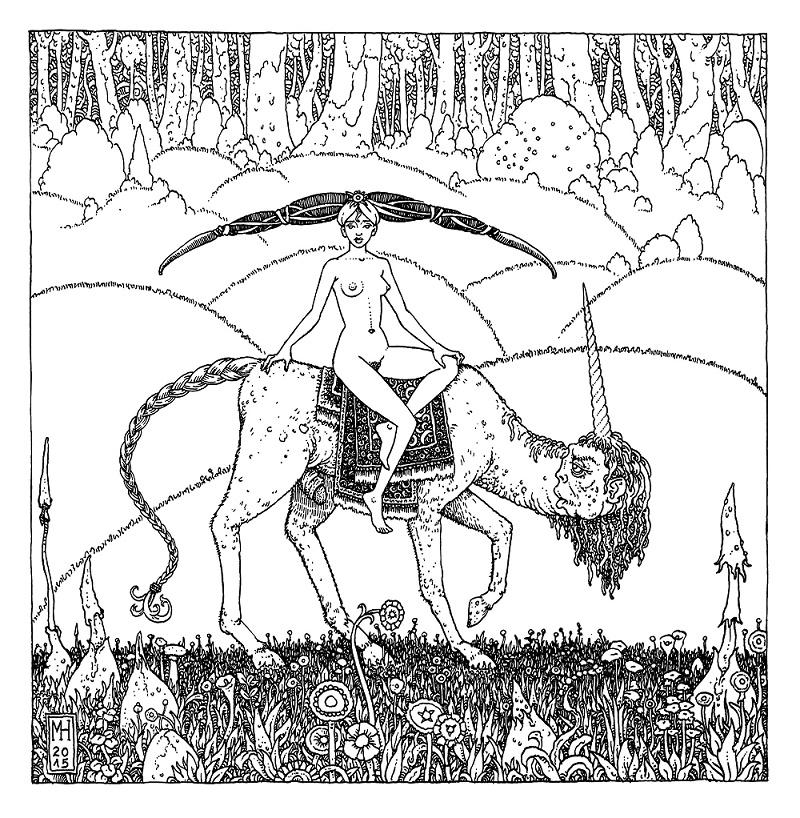 Michael Hutter unicorn