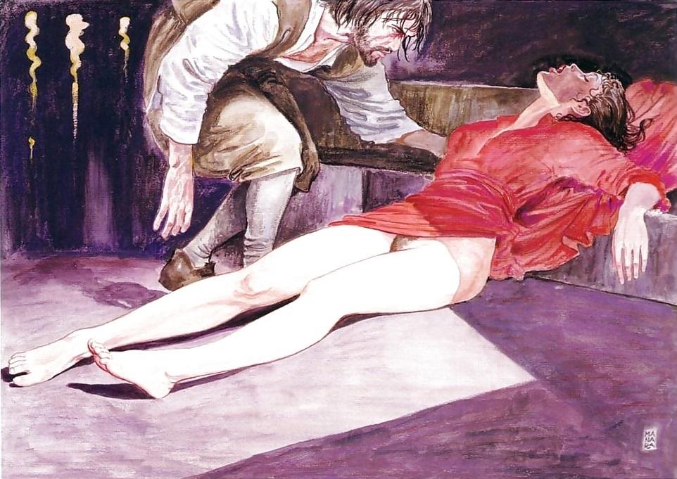 Milo Manara Caravaggio