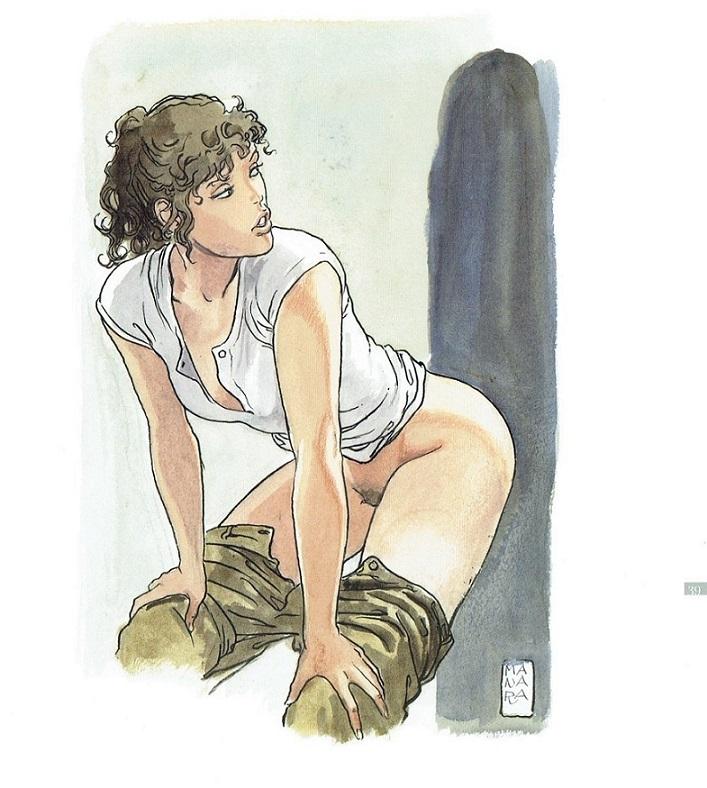 Milo Manara nudity
