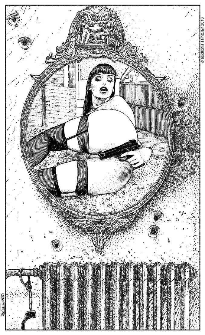 mirror Apollonia Saintclaire