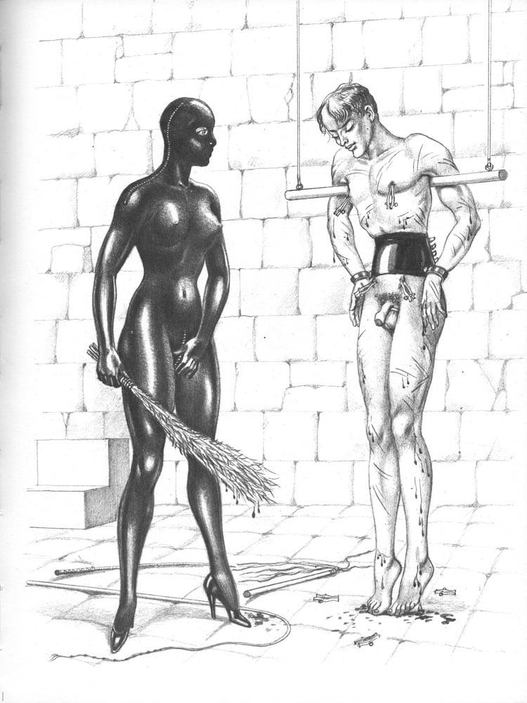 mistress in leather Bernard Montergueill