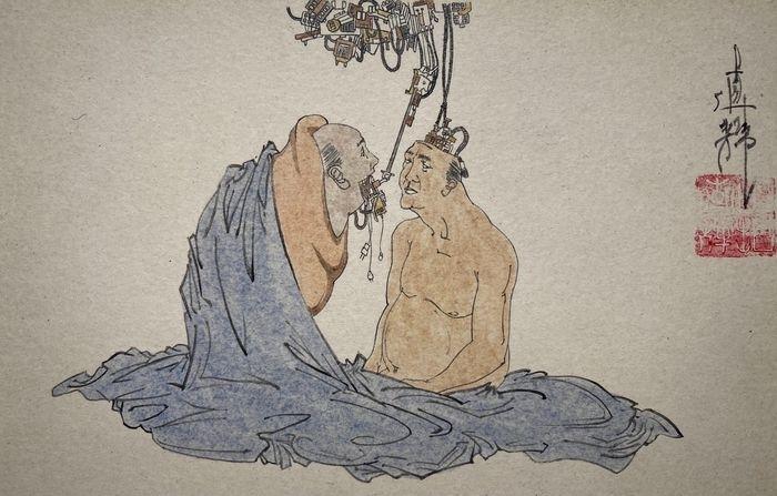 modern shunga art Naoki Yamaji