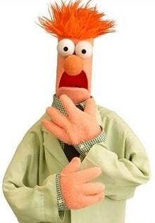 Muppet Show Character Beaker