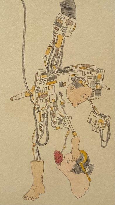 Naoki Yamaji Japanese artist