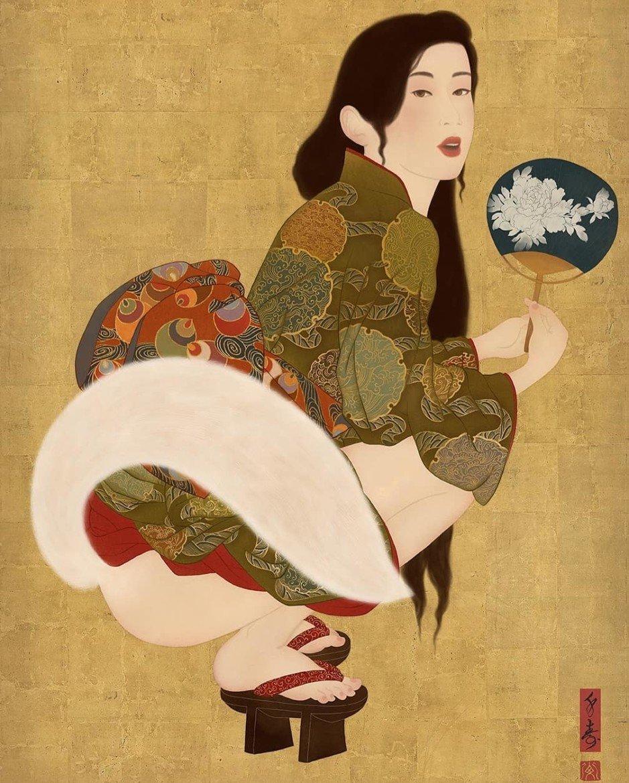 Senju shunga art