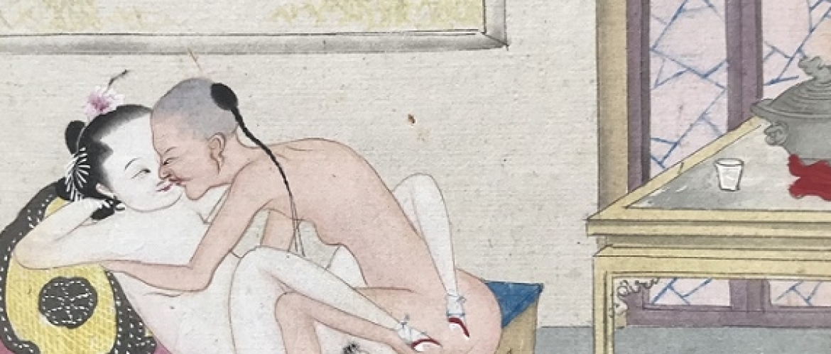 Chinese Erotic Album Revealing 12 Intimate Secrets From the Third Class Brothel