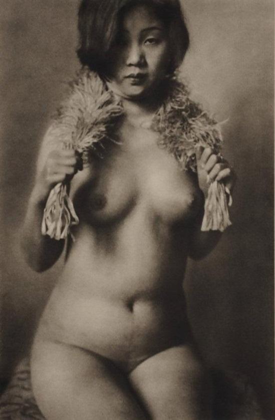 nude portrait Yasuzō Nojima