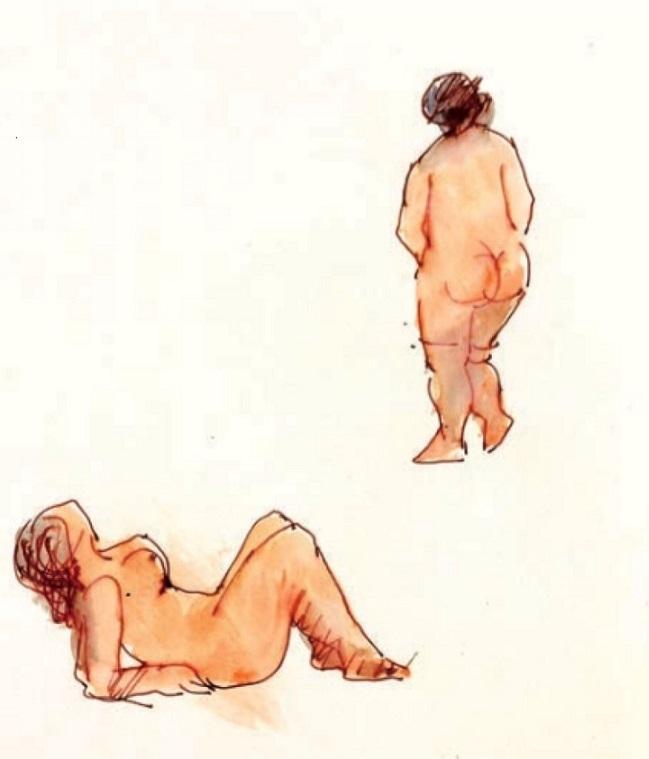 nudes Vasko Lipovac art