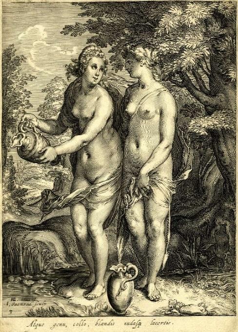 Nymphs of Diana/Artemis