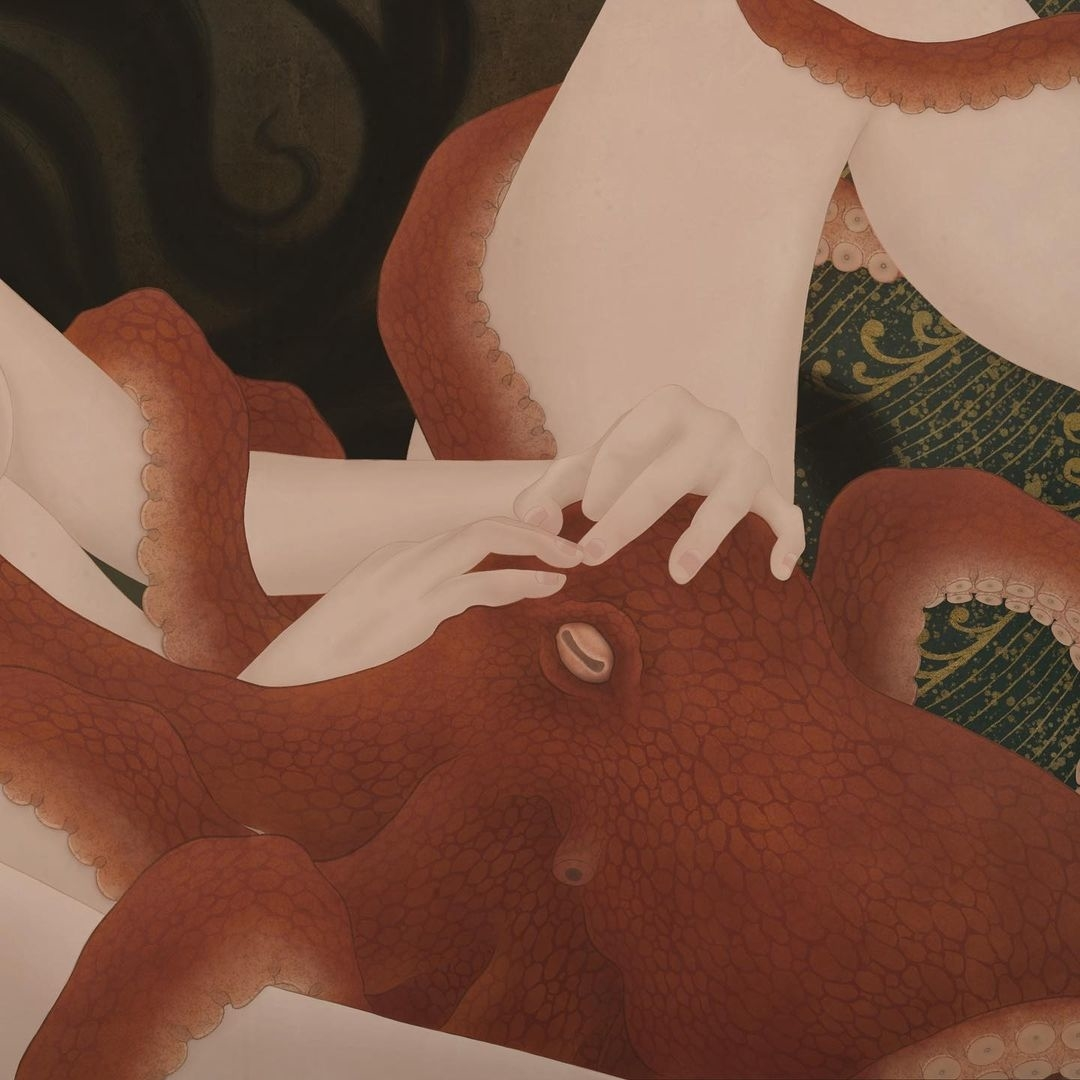 octopus senju shunga