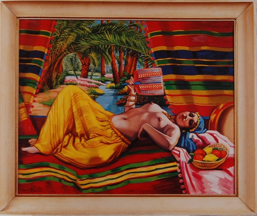 Odalisque by Camille Clovis Trouille