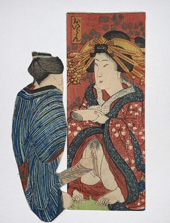 oiran geisha shunga