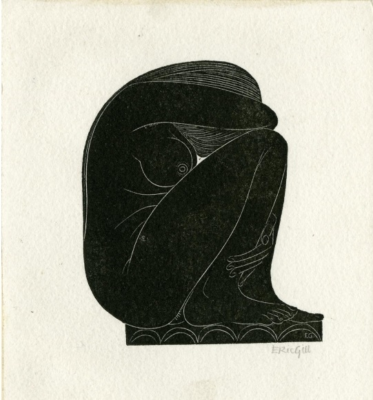 On The Tiles, by Eric Gill