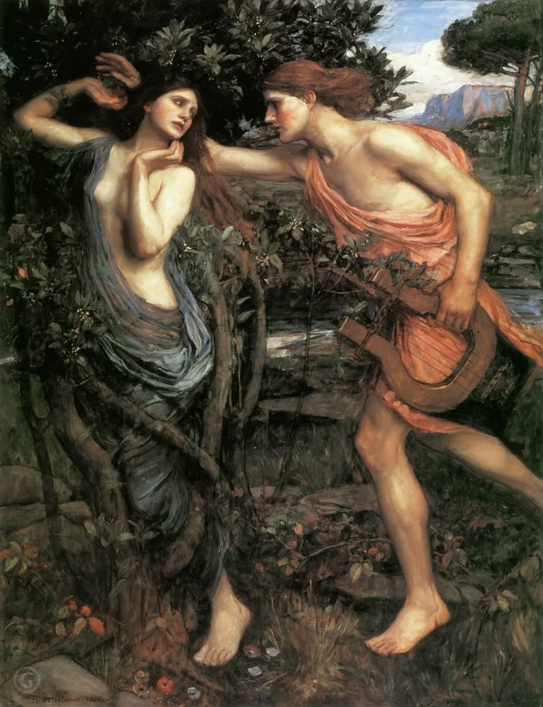 Arborophilia: 'Apollo and Daphne' by John William Waterhouse