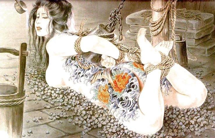 Ozuma Kaname bondage
