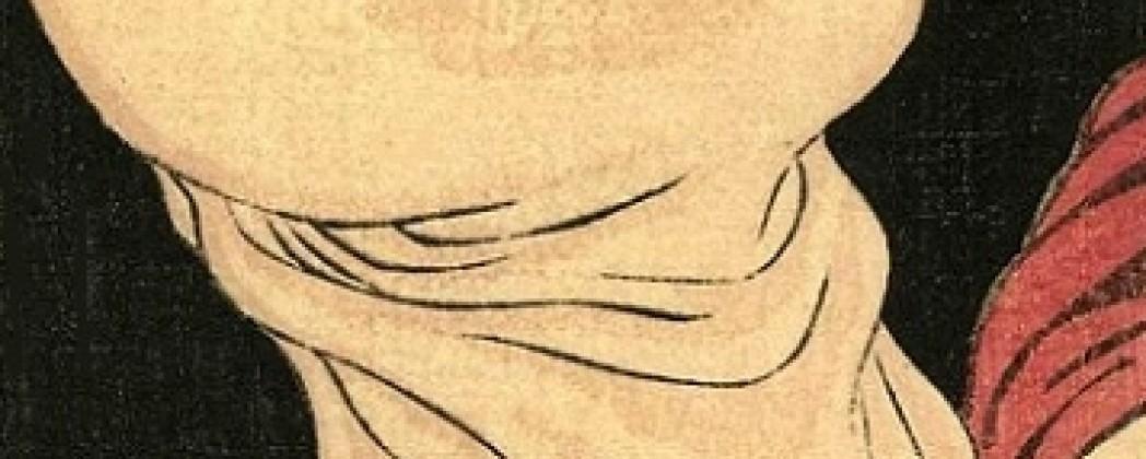 Graphic Penis Close Up Designs in Shunga
